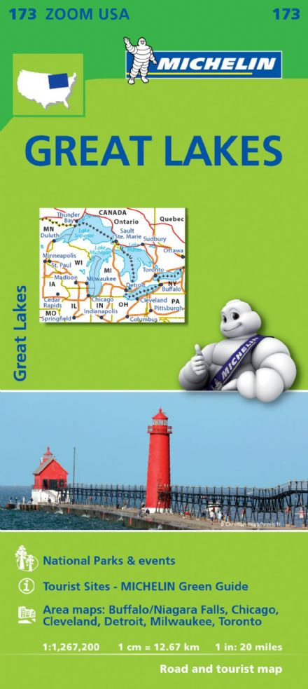 173 Great Lakes - Michelin Zoom Map
